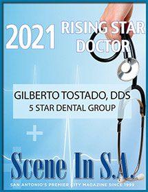 Rising Star Doctor of San Antonio Plaque